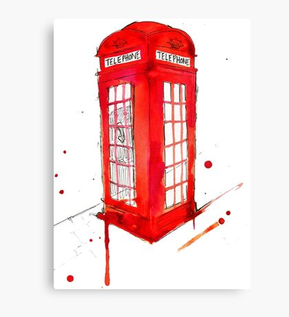 Telephone Booth 578 Canvas Print