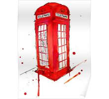 Telephone Booth 578 Poster