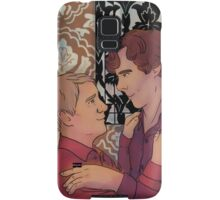 By the fireplace Samsung Galaxy Case/Skin
