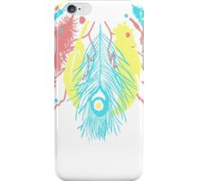 Cute Feather Necklace Graphic  iPhone Case/Skin