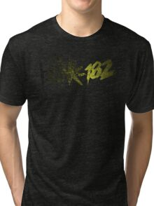 Blink 182 Gold Tri-blend T-Shirt