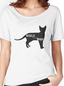 World cat day Women's Relaxed Fit T-Shirt