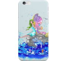Blue Sea Mist The Seaside Fairy iPhone Case/Skin