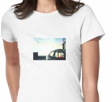 Rooftop Mirage Womens Fitted T-Shirt