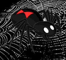 Black Widow Spider by GrimDork