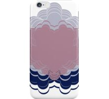Heart Lace! - Blush Pink and Dove Grey iPhone Case/Skin