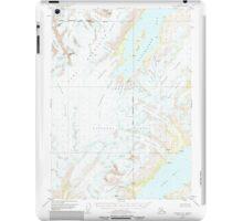 USGS TOPO Map Alaska AK Seward C-5 358955 1951 63360 iPad Case/Skin