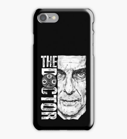New Beginnings Number 12 - Doctor Who - Peter Capaldi iPhone Case/Skin