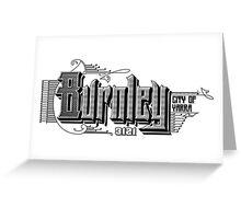 Burnley Greeting Card