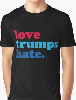 Love Trumps Hate Authentic Graphic T-Shirt