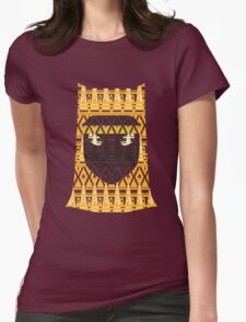 Journey Pattern Womens Fitted T-Shirt
