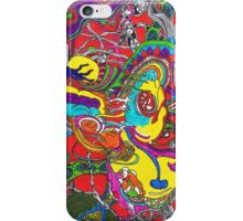 Anatomy of thought in Colour iPhone Case/Skin