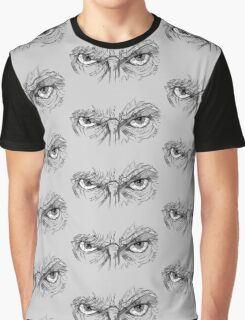 Doctor Who - Peter Capaldi Eyes - No Sir, All 13 Graphic T-Shirt