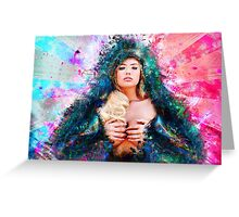 Cosmic Sexy Collection - Pinup #9 Greeting Card