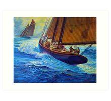 Men Of Gloucester Art Print
