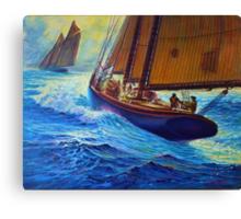 Men Of Gloucester Canvas Print