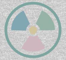 Radioactive Pastels One Piece - Long Sleeve