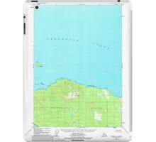 USGS TOPO Map Alaska AK Sumdum A-6 359366 1948 63360 iPad Case/Skin