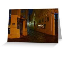 Night walks Greeting Card