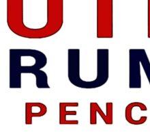 Putin Trump Pence 2016 - Make Russia Great Again Sticker