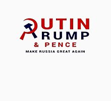 Putin Trump Pence 2016 - Make Russia Great Again Women's Fitted Scoop T-Shirt