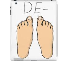 De-Feet iPad Case/Skin