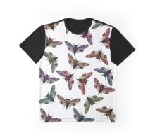 Multi Colour Cicadidae Graphic T-Shirt