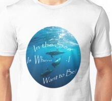 Free All the Dolphins and Whales Movement Unisex T-Shirt