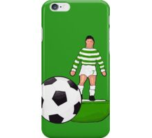 Retro 70's Table football Hoops Design iPhone Case/Skin