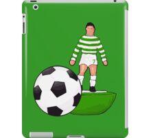 Retro 70's Table football Hoops Design iPad Case/Skin