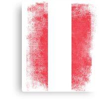 Austria Flag Proud Austrian Vintage Distressed Canvas Print