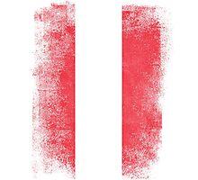 Austria Flag Proud Austrian Vintage Distressed Photographic Print