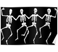 Skeleton Dance Poster
