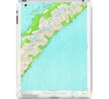 USGS TOPO Map Alaska AK Seward A-1 358857 1951 63360 iPad Case/Skin