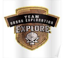 Team Urban Exploration Poster