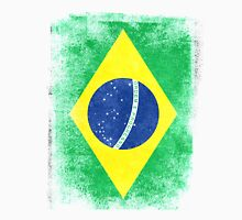 Brazil Flag Proud Brazilian Vintage Distressed Unisex T-Shirt