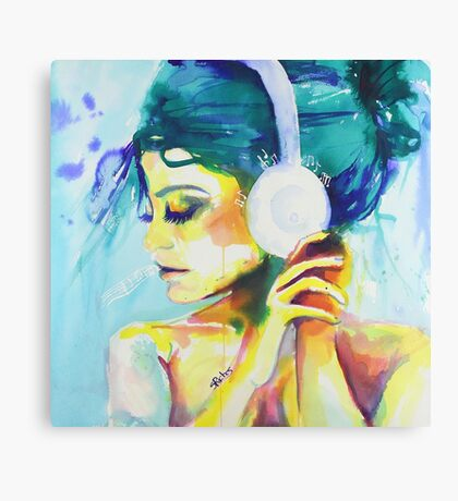 Color Symphony Canvas Print