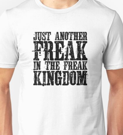 Hunter Thompson Quote Freaks Fear And Loathing In Las Vegas Unisex T-Shirt