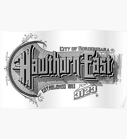 Hawthorn East Poster