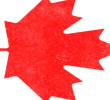 Canada Flag Proud Canadian Vintage Distressed Sticker