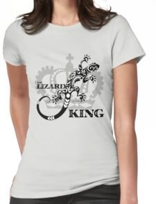 The Lizard king Jim Morrison The Doors Design Womens Fitted T-Shirt
