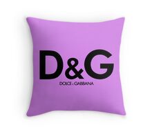 D&G Throw Pillow
