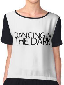 Dancing In The Dark Bruce Springsteen Lyrics Quote Chiffon Top