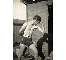 Muscle Man Photographic Print