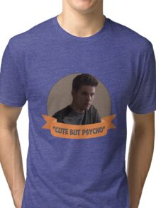 *Cute but Psycho* [Theo Raeken] Tri-blend T-Shirt