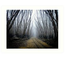Wounded Woodland  Art Print
