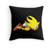 Super Sonic  Throw Pillow