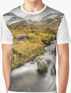 Winter Landscape Graphic T-Shirt