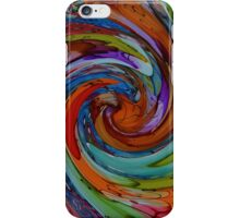 Swirl This Abstract Twist iPhone Case/Skin