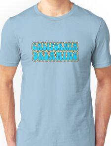 California Dreaming Song Lyrics Hippie 60s Peace Unisex T-Shirt